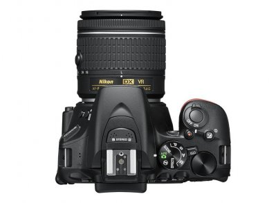 Цифровая камера NIKON D5600 KIT 18-55mm VR / black [VBA500K001]